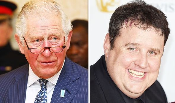 peter kay príncipe charles princesa ana royal tv uk