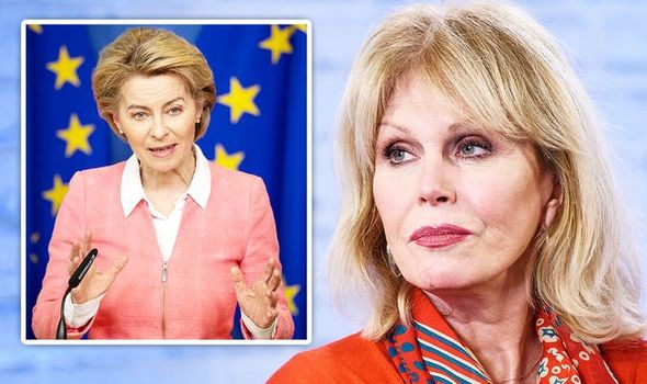 JOANNA LUMLEY HOME SWEET HOME BREXIT LEAVE EU TV