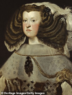 Mariana of Austria (1634-1696) also had a similar jawline which was prominent in European families