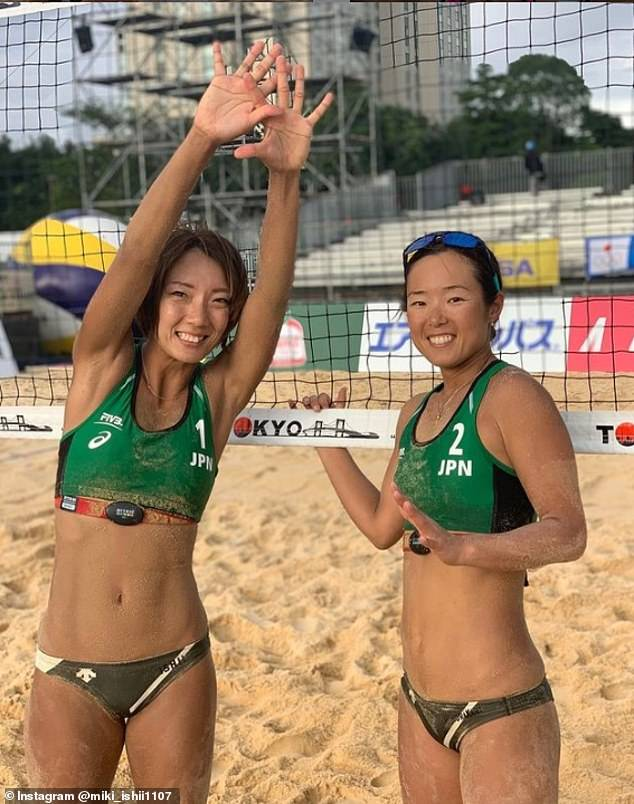 Miki Ishii, 31, and Megumi Murakami, 35, will represent the home nation at the Tokyo Olympics