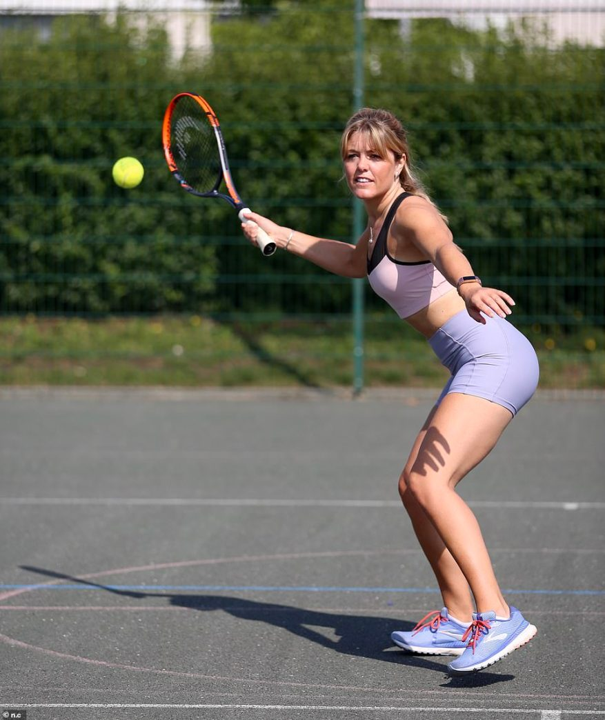 For tennis and netball, Hayley said the likes of Serena Williams and Tracey Neville have got it right with a skirt (accompanied by a trusty pair of knicker shorts)