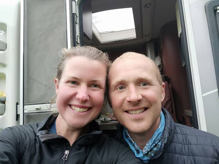 Dingley's partner Dan Colegate (left) claimed in a recent BBC interview he 'could no longer agree' with the idea she had suffered an accident