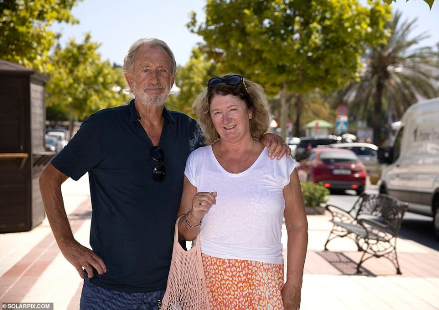 Joan Todd, 67, who had just got her fit-to-fly test result with husband David, 81, before travelling back home tomorrow to Hessle, East Yorkshire, said: 'It won't affect us this time round if Spain goes on the amber plus list'