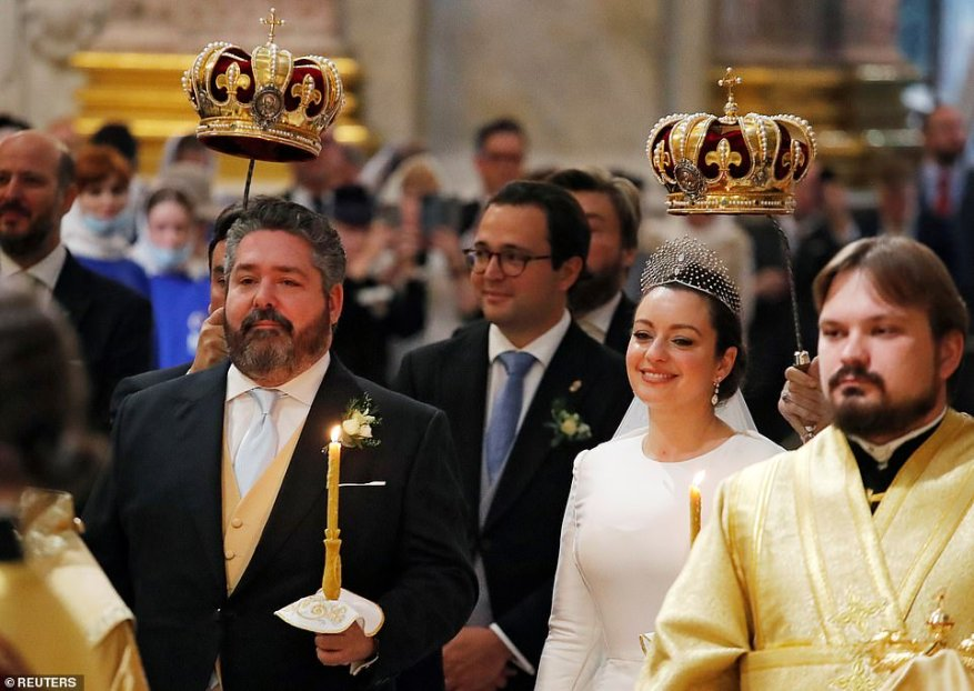 Romanov said that the couple chose the city as the venue for tying the knot because it was the first place in the country where the family returned in the early 1990s.
