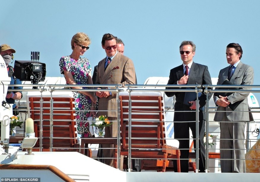 Official: They were joined by two other smart-looking gentleman on the boat