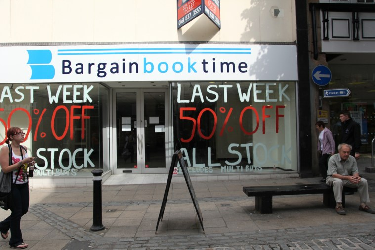 Bargain Book Time / Closed, Lancaster