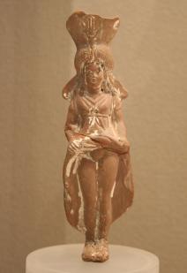 07. Isis-Aphrodite. 2nd to 1st century BC.Terracotta,greek. - Cópia