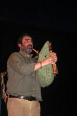 13. Ricardo Almeida a tocar gaita de fole. Fotografia de Francisco Abrunhosa.