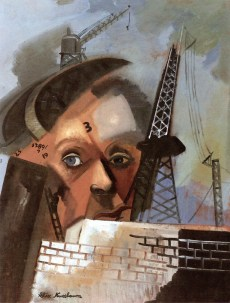 13 Felix Nussbaum. Self-Portrait in a Surreal Landscape. Ca 1939,