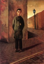 29 Felix Nussbaum. Jaqui in the Street. 1943.