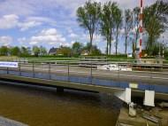 open bridge with boat