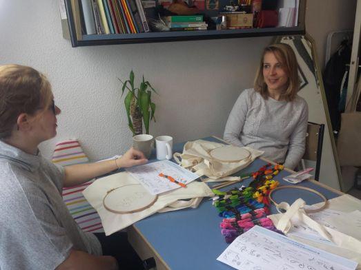 les participantes à l'atelier