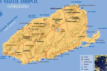 Ίμβρος-Τένεδος: Κατάφωρες παραβιάσεις συνθήκης Λωζάνης από Τουρκία