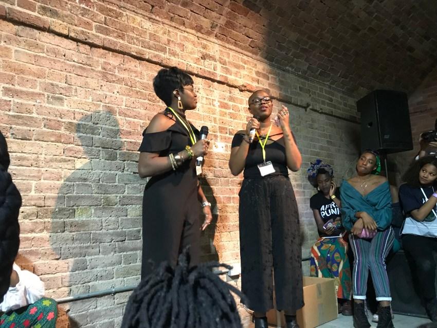 Black Girl Festival founders Nicole Crentsil and Paula Apkan