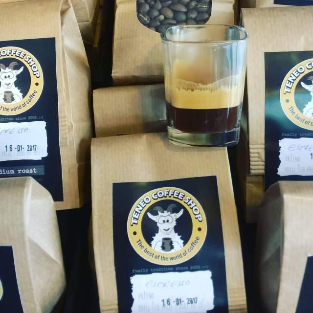 Svježe pržena kava u zrnu. Specialty kava u Teneo Coffee Shopu