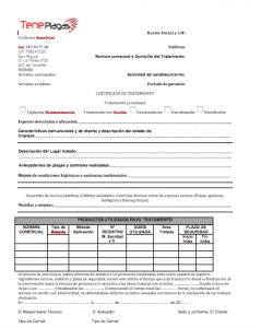 certificado de plagas barato en tenerife y las palmas
