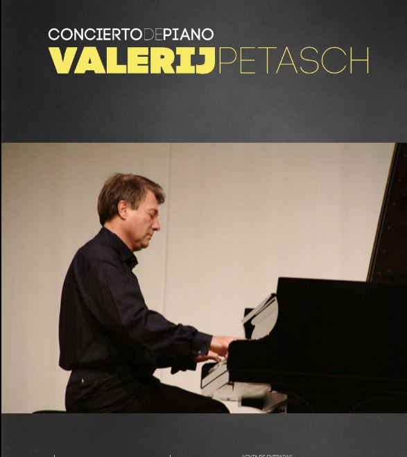 International concert pianist Valerij Petasch back for Christmas concert in Guía de Isora auditorium Saturday 28 December