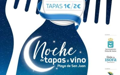 Noche de tapas y vino in Playa San Juan on 30 March