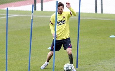 La Liga players back in training, with games to possibly restart on 20 June