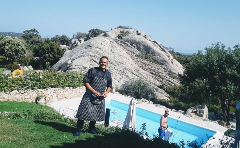 Private Chef Service in Sardinia