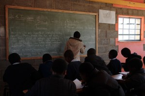 Lesotho - Maseru Qoaling School - John Hogg - 090626 (14)