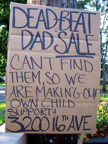 Dead-beat Dad sale