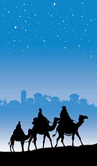 La visión de los Reyes Magos