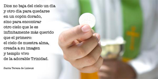 La oración del corazón   La eucaristía (1)