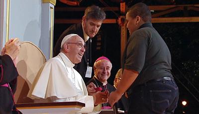 Papa Francisco en el festival y vigilia de las familias