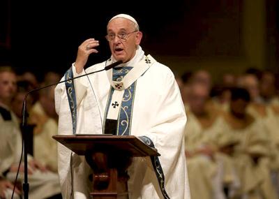 Misa del Papa en Filadelfia