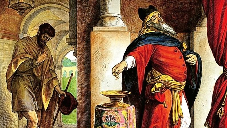 La oración del fariseo y el publicano