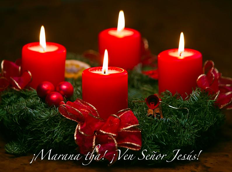 Oración para encender la 4ta vela de Adviento