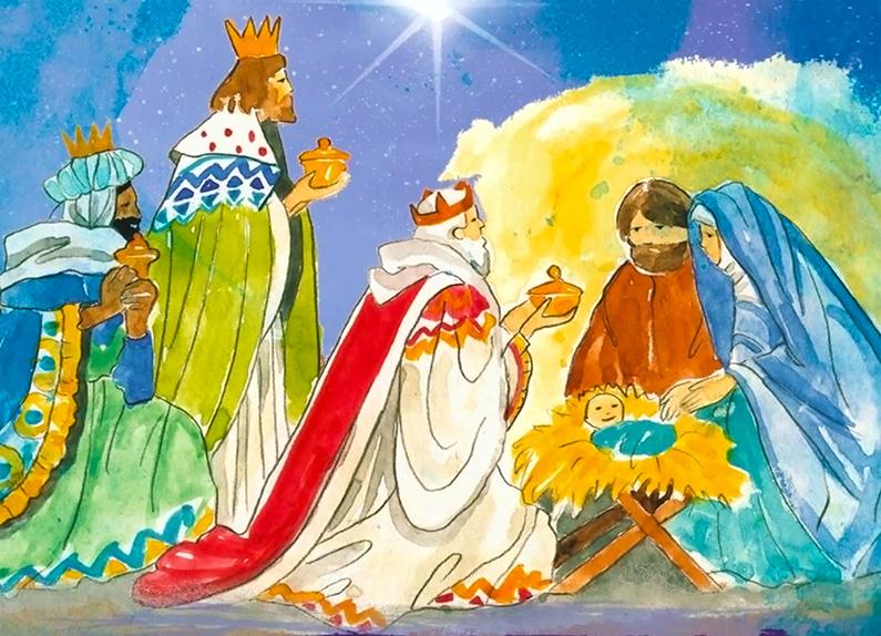¡Feliz día de la Epifanía... y feliz día de los Reyes Magos!