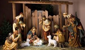 Oración de la familia ante el Nacimiento en la Nochebuena