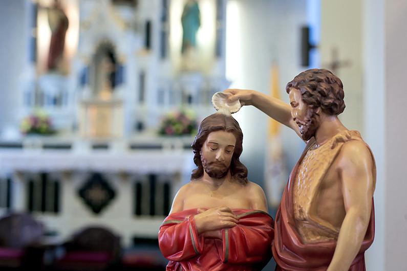 Domingo del Bautismo del Señor: déjate usar por Dios con humildad