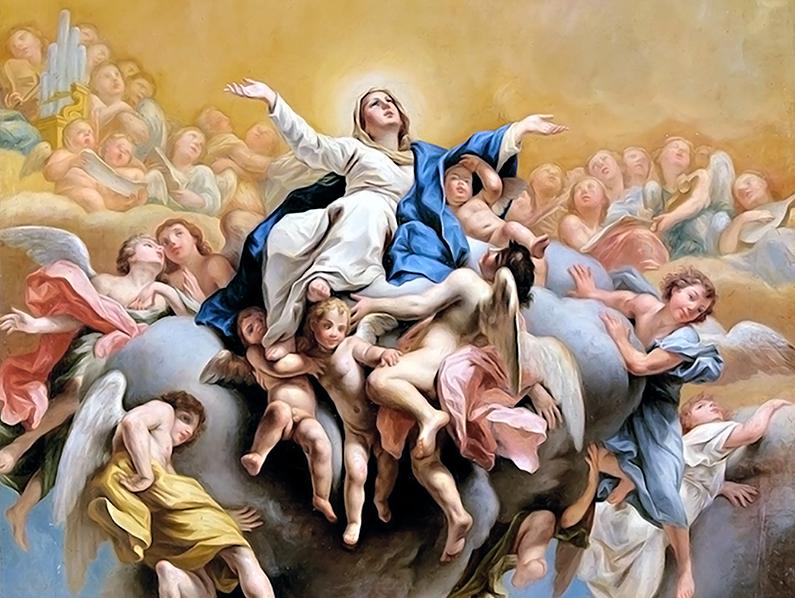 XX Domingo durante el año: la Asunción de la Virgen María