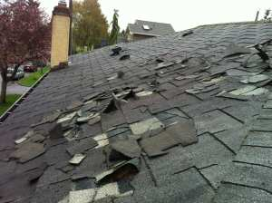 roof damage bad