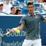 Novack Djokovic debutó sin problemas en Cincinnati