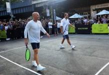 Sampras y Agassi paricipan del remake de Nike