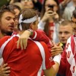 Suiza se mantiene en el grupo mundial al derrotar a Holanda 4 a 1