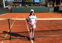 Agostina Caimi del Club Naval venció a la jugadora de Dolores Sofía Pesce