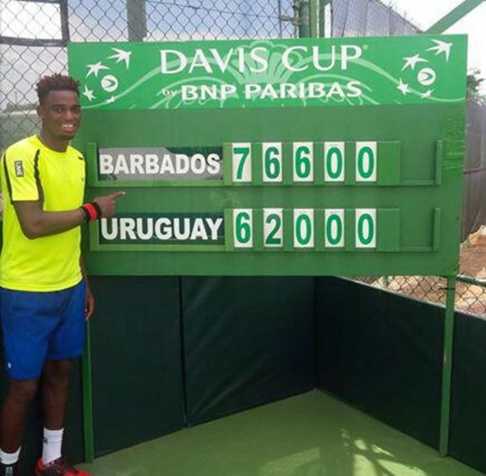Barbados decretó el descenso de Uruguay al grupo II de la Zona Americana de Copa Davis