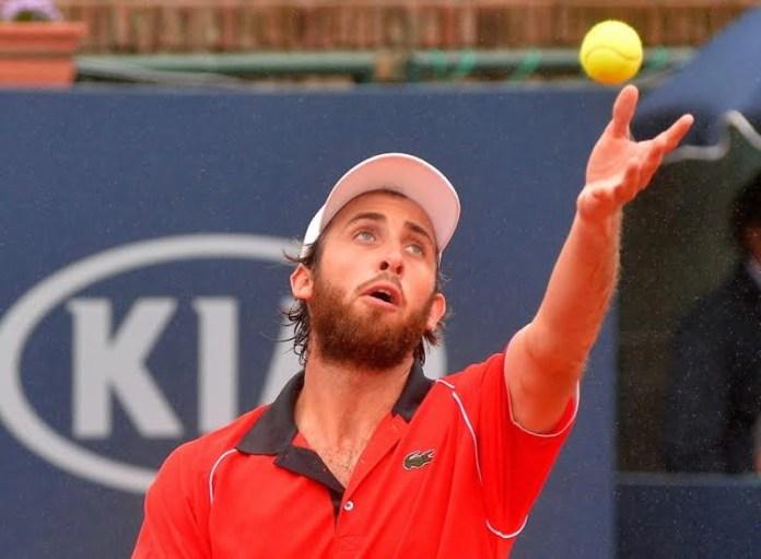 Derrota de Martín Cuevas en el debut del Uruguay open
