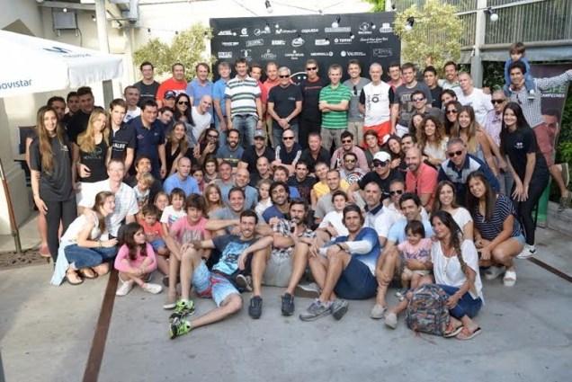 Grupo de participantes del MVD Open