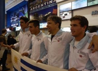 Uruguay Barbados por Copa Davis
