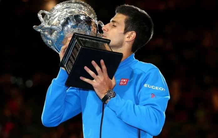 Djokovic besa el trofeo del Australian Open