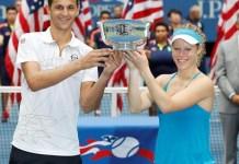 Laura Siegemund y el croata Mate Pavic campeones del Abierto de Estados Unidos.