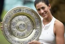 Garbiñe Muguruza campeona en Wimbledon 2017