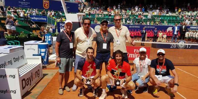 Cuevas campeón en dobles