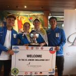 Uruguay campeon de la Compass IC Junior Challenge